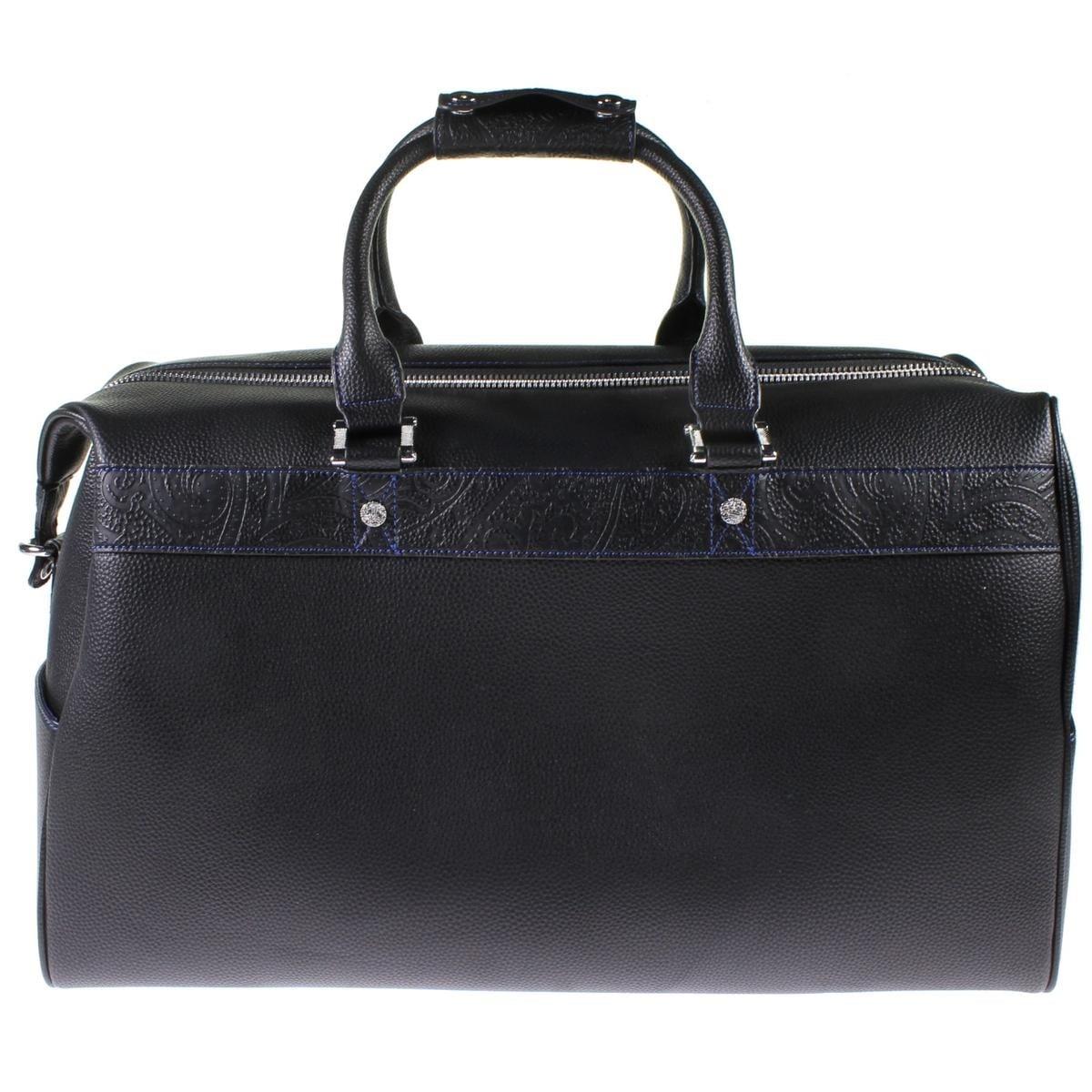 Robert Graham Mens Samson Duffle Bag Leather Convertible Extra Large