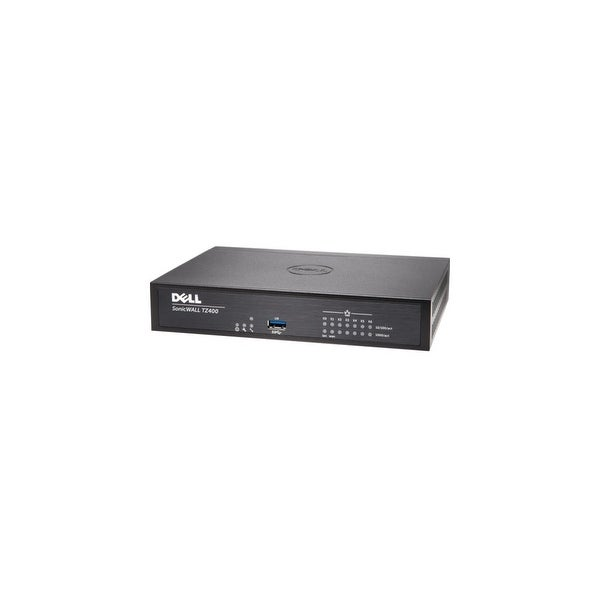 SonicWall 01-SSC-0514 SonicWALL TZ400 Network Security/Firewall Appliance - 7 Port - 10/100/1000Base-T Gigabit Ethernet - DES,
