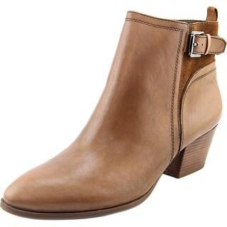 Franco Sarto Garda Round Toe Leather Ankle Boot
