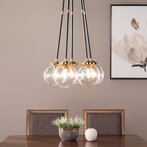 Strick & Bolton Ladley Contemporary Globe 5-Light Cluster Pendant