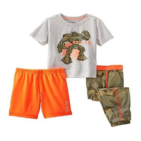 OshKosh B'gosh 3 Piece Camo Transformer Pajama Set - 8 Kids