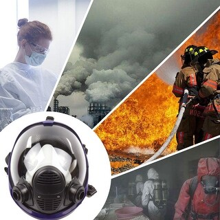 For 3M 6800 Facepiece Respirator Mask Full Face Painting Spraying Gas Mask - Black
