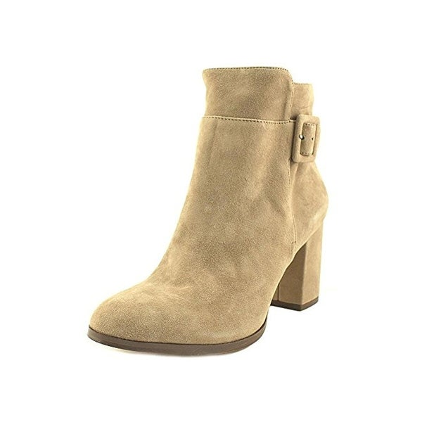 424 Fifth Womens Layna Ankle Boots Suede Buckle