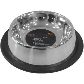Pet Nautic Non-Skid Non-Tip Cat Bowl 8Oz-Stainless Steel