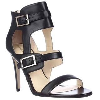 Ivanka Trump Donalu Dress Heel Sandals - Black