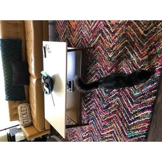 Safavieh Handmade Nantucket Herzlinde Contemporary Cotton Rug