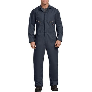 Dickies Men's Deluxe Small Dark Navy Long Sleeve Blended Coverall
