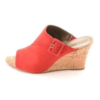 Tahari Womens Pearl Fabric Peep Toe Casual Platform Sandals