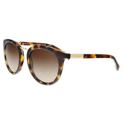 0e959bffdf9a Ralph Lauren RA5207 150613 Dark Tortoise Cat eye Sunglasses - 52-21-135