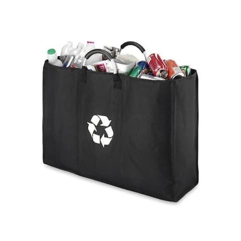 Whitmor 6863-3484-blk-bb recycle triple sorter bag blk