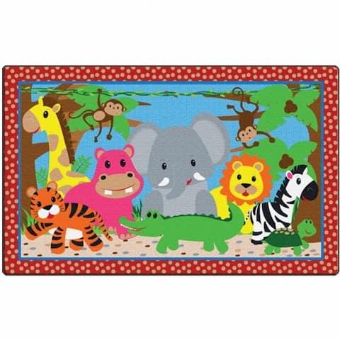 Cutie Jungle Carpet - 3' x 5'
