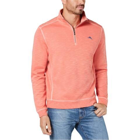 Tommy Bahama Mens Tobago Bay Sweatshirt, Pink, XXX-Large