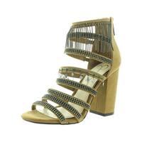 Jessica Simpson Womens Katalena Dress Sandals Faux Suede Embellished