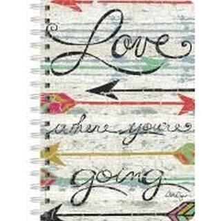 Love Where You Go Spiral Journal, Lang Folk Art by Lang Companies