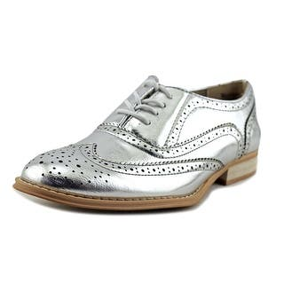 Wanted Babe Women Wingtip Toe Synthetic Silver Oxford|https://ak1.ostkcdn.com/images/products/is/images/direct/08ee82673ba102c110fcdd04a8ccd934dea237fd/Wanted-Babe-Women-Wingtip-Toe-Synthetic-Silver-Oxford.jpg?impolicy=medium