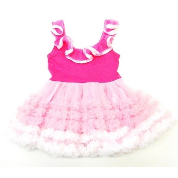 Wenchoice Hot Pink Baby-doll Tutu Petti Dress Girl S