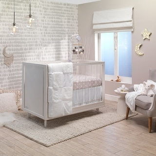 Link to Lambs & Ivy Signature Patchwork Marble/Starburst 4-Piece Crib Bedding Set Similar Items in Mobiles