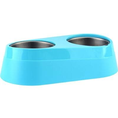 O2cool - Phc0002-Blu - O2c Chill Pet Double Bowl Blue