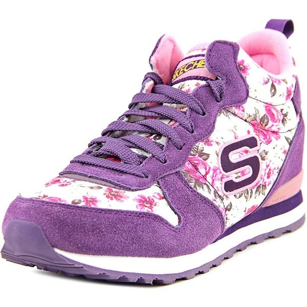 algo Fielmente Lirio  Skechers Sport OG 85- Hollywood Rose Round Toe Suede Sneakers - Overstock -  14577824