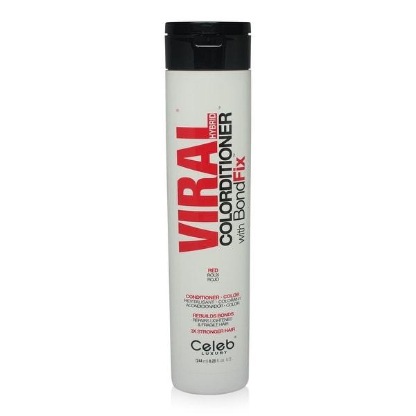 Celeb - Viral Vivid Bright Red Hybrid Toner Conditioner 8.25 Oz