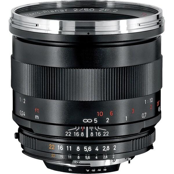 ZEISS Makro-Planar T* 50mm f/2 ZF.2 Lens for Nikon F-Mount Cameras - Black