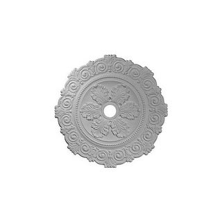 "Ekena Millwork CM33SC 33.25"" Wide Scroll Medallion"
