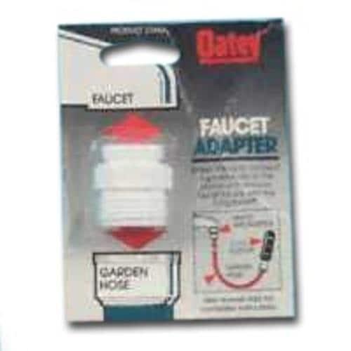 Delightful Oatey 33444 Faucet/Garden Hose Adapter