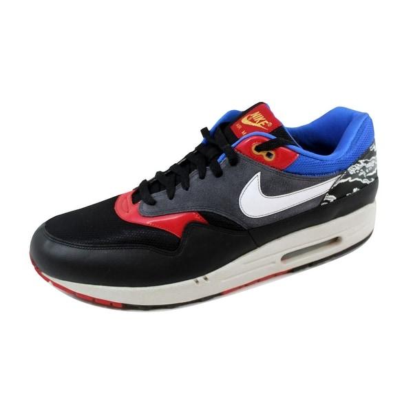 Nike Men's Air Max 1 Paramount Blue/Black 308866-011 Size 15
