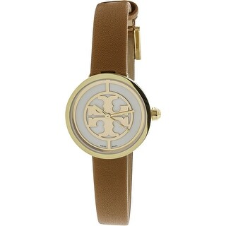 Tory Burch Women's Reva TB4018 Gold Leather Quartz Fashion Watch