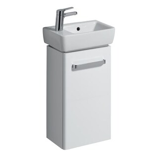 Bissonnet 862040-276240 Comprimo 13-7/10? Free Standing or Wall-Mount Vanity Set with MDF Cabinet and Left Hand Integrated