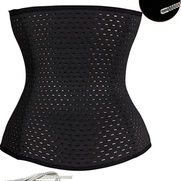 2fc40e5ff Shop Women s Waist Trainer Corset - Free Shipping On Orders Over  45 -  Overstock - 23025794