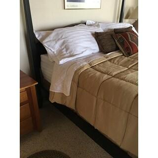 Andiamo Cotton 500 Thread Count Woven Stripe Sheet Set