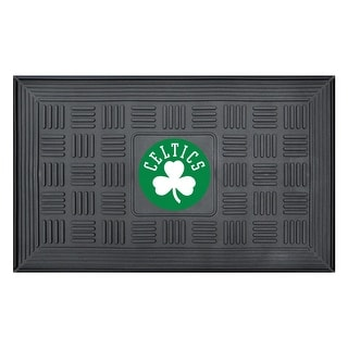 "NBA - Boston Celtics Medallion Door Mat - 19.5"" x 31.25"""