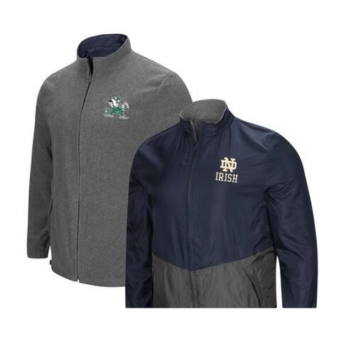 Colosseum Notre Dame Men's Reversible Lighweight Game Day Jacket