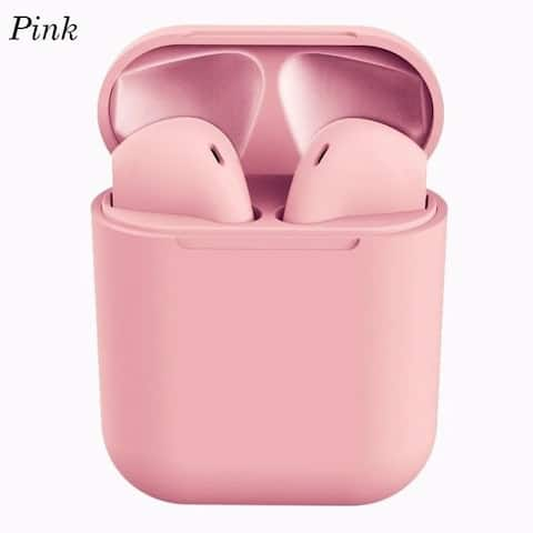 Rubber Matte Clear Sound Wireless Earbuds