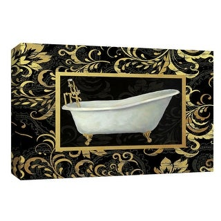 "PTM Images 9-148304  PTM Canvas Collection 8"" x 10"" - ""Royal Bath II"" Giclee Bed and Bath Art Print on Canvas"