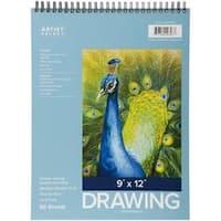 """Wirebound 50 Sheets - Pro Art Drawing Pad 9""""X12"""""""