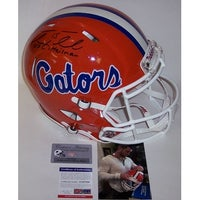 1c64e766c Tim Tebow Autographed Hand Signed Florida Gators Speed Full Size Authentic  Helmet - PSA DNA