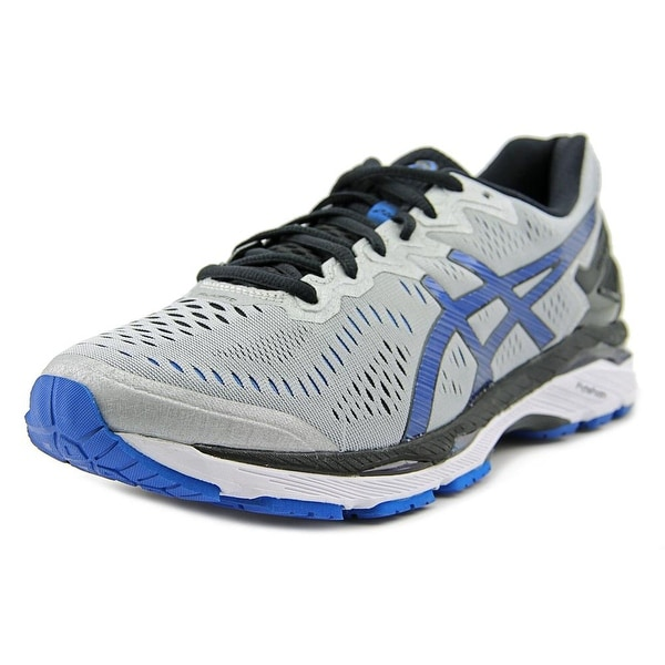 Asics Gel-Kayano 23 Men 2E Round Toe Synthetic Silver Running Shoe