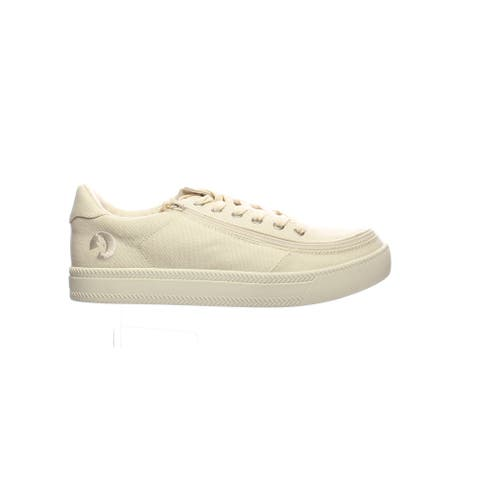 BILLY Mens Classic Lace Low Natural Fashion Sneaker Size 11