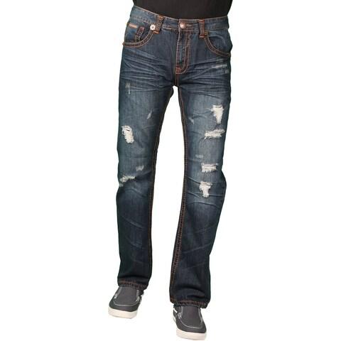 Parish Nation Young Men's Dark Stonewash Fashion Jeans