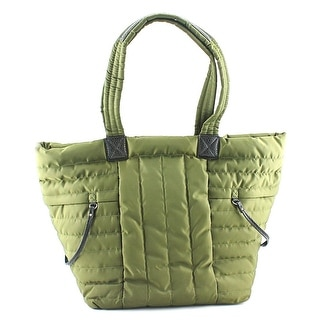 Nine West Zippered Up Tote Women Synthetic Tote - Green