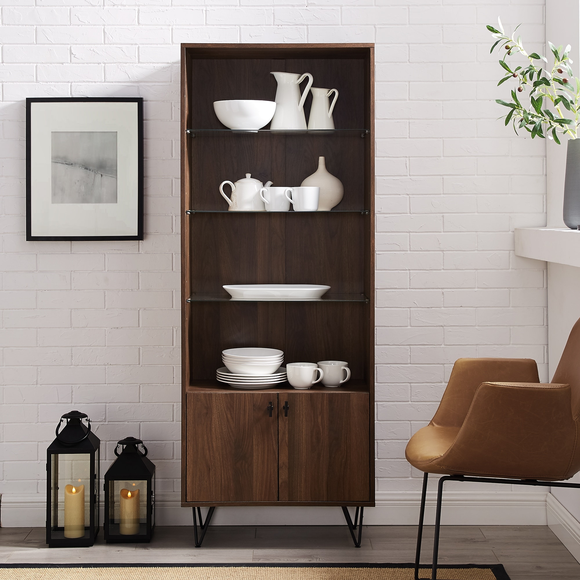 Carson Carrington 68 Tall Modern Storage Cabinet On Sale Overstock 27991250