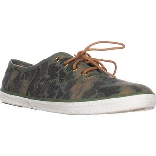 Keds Champion Ripstop Sneakers, Olive
