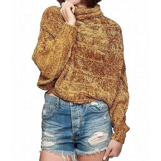 Free People Womens Small Poncho Chenille Sweater
