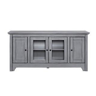 """Delacora WE-BD52C4DO  53"""" Wide Wood Media Cabinet"""
