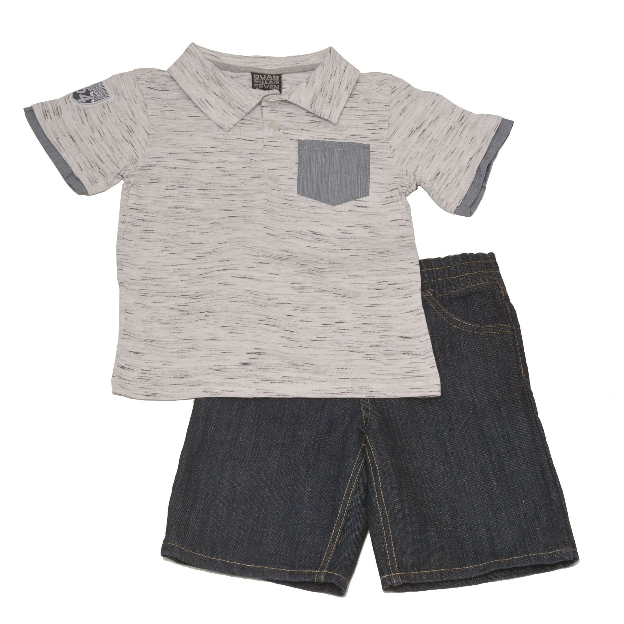 Quad Seven Boys 2-Piece Shorts Set Outfit