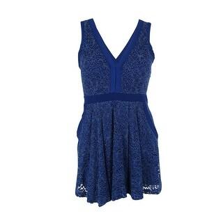 Free People Women's Lace Mini Dress