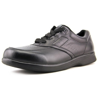 Propet Vista Women N/S Round Toe Leather Black Oxford