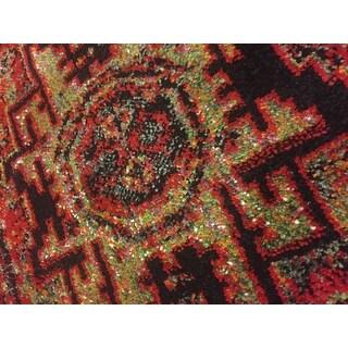 Safavieh Vintage Hamadan Traditional Red/ Multi Distressed Runner (2'2 x 12')